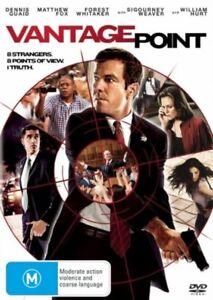 Vantage Point (2008) Dennis Quaid - NEW DVD - Region 4