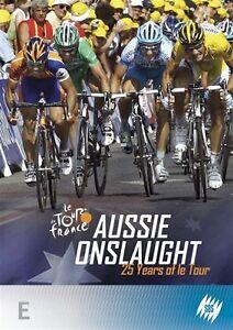Le Tour De France - Aussie Onslaught - 25 Years Of Le Tour  - New - Region 4