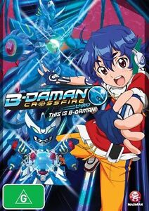 B-Daman Crossfire - This Is B-Daman! : Vol 1 (DVD, 2013) Brand New & Sealed R4