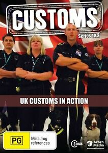 Customs UK : Series 1 - 2 (DVD, 2011, 3 x Disc Set, region 4) gf5