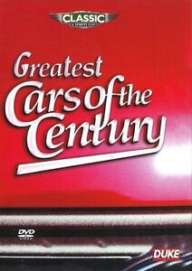 Greatest Cars of the Century DVD Brand New FREE POSTAGE