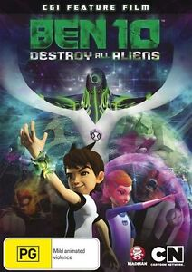 Ben 10 Destroy All Aliens DVD Brand New Region 4