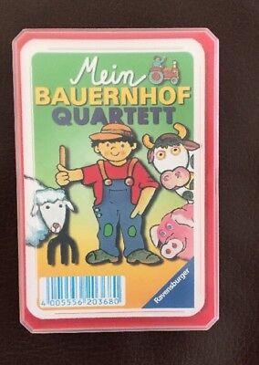 Ravensburger Tier-Kinder Quartett gebraucht kaufen  Bermatingen