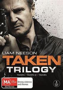 Taken Trilogy (Taken / Taken 2 / Taken 3) - DVD Movie - Action - NEW