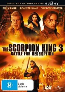 The Scorpion King 3: BATTLE FOR REDEMPTION : NEW DVD