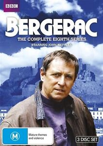 Bergerac - The Complete Series 8 NEW R4 DVD