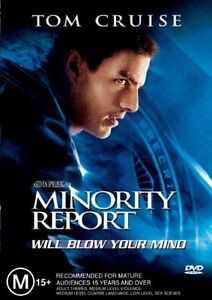 MINORITY REPORT DVD=2 DISC SPECIAL EDITION=TOM CRUISE=REGION 4=NEW AND SEALED