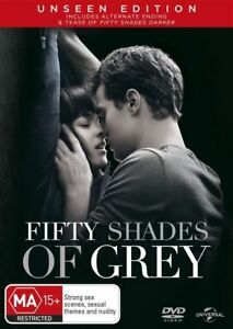 Fifty Shades of Grey (DVD, 2015) NEW R4