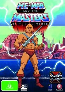 He-Man and the Masters of the Universe® Complete Collection NEW R4 DVD