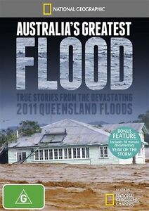 National Geographic - Australia's Greatest Flood (DVD, 2012) R4 - New