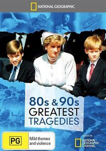 National Geographic - 80s & 90s Greatest Tragedies (DVD, 2015) New  Region 4
