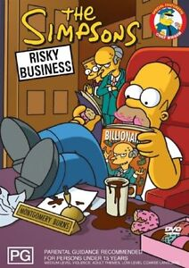 The Simpsons: Risky Business (DVD, 2006) R4 NEW