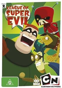 League Of Super Evil : Collection 2 (DVD, 2-Disc Set) Like New