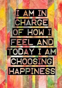 HAPPINESS QUOTE INSPIRATIONAL ART IMAGE A4 Poster Gloss Print LAMINATED