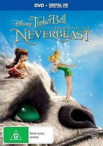 Tinker Bell - Legend Of The NeverBeast (DVD, 2015)