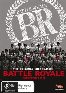 Battle Royale (DVD, 2012)