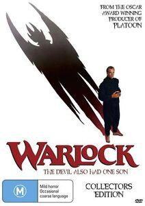 NEW Warlock (DVD, 1989) Region 4
