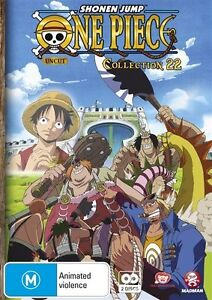 One Piece (Uncut) Collection 22 (S5 Eps 264-275) NEW R4 DVD