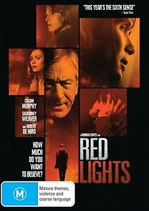 Red Lights (DVD, 2013) Region 4 Thriller Mystery DVD Rated M Like NEW Condition