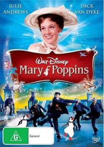 Mary Poppins (DVD, 2014) Julie Andrews *New & Sealed* Region 4