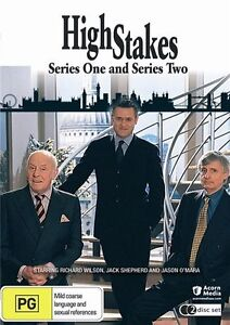 High Stakes, series 1 & 2 (DVD, 2-Disc Set, Region 4, New & Sealed) e2