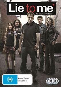 Lie To Me Series - Season 3 : NEW DVD