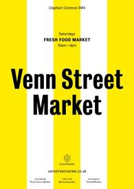 P/T Saturday Deputy Manager - Venn Street Market