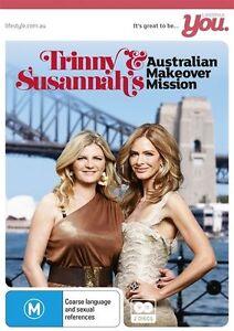 Trinny & Susannah's Australian Makeover Mission (DVD, 2012, 2-Disc Set) NEW!