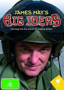 James May's Big Ideas (DVD, 2010) - New - Region Free