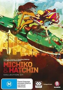 Michiko & Hatchin : Collection 1 (DVD, 2013, 2-Disc Set) - New & FREE POSTAGE