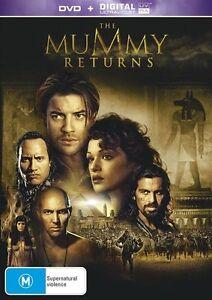 THE MUMMY RETURNS DVD + DIGITAL ULTRAVIOLET| UV