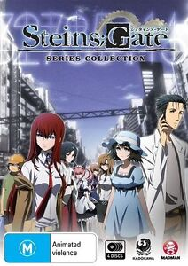 Steins;Gate Series Collection NEW R4 DVD