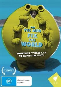 The Yes Men Fix The World (DVD, 2011) Brand New & Sealed Region 4 DVD - D23