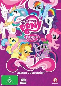 My Little Pony: Friendship is Magic Season 2 Collection NEW R4 DVD