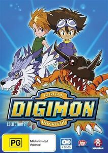 Digimon - Digital Monsters : Collection 2 : Eps 28-54 (DVD, 2011, 4-Disc Set)