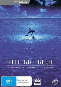 The Big Blue NEW R4 DVD