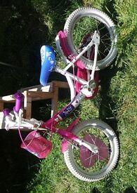Girl bicycle
