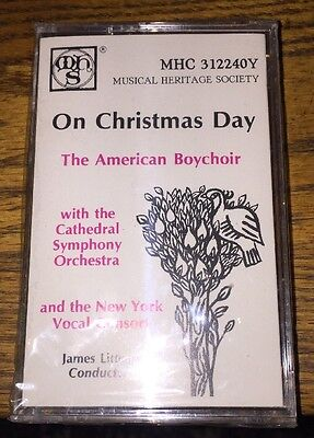 On Christmas Day The American Choir Cassette New! ()