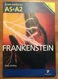 Frankenstein A LEVEL revision guide- York Notes