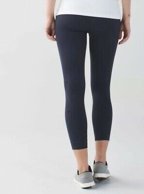 Lululemon Size 4 Zone In Tight Crop Pant Legging Black