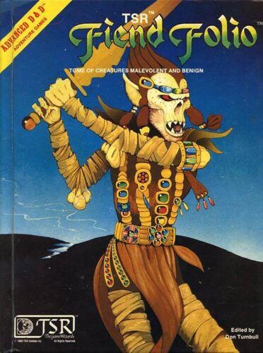 FIEND FOLIO EXC+! Monster Manual Monstrous #2012 Dungeons Dragons D&D Compendium
