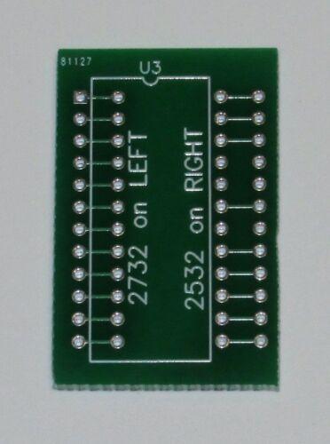 4Pcs 2732 to 2532 EPROM adaptor 4 Pcs
