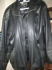 AVI COLLECTION STYLISH LEATHER JACKET