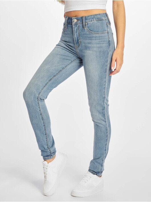 Jeans femme levi's 721 high rise skinny bleu taille 36 us:w26 l/32 ttbe!