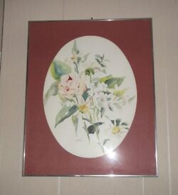 Sue Ellyn Wilder Framed Watercolour