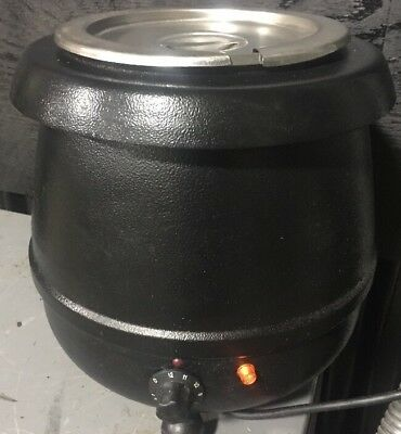 Alfa Kettle 10 12 Qt Electric Soup Warmer Commercial Restaurant Kitchen Heater
