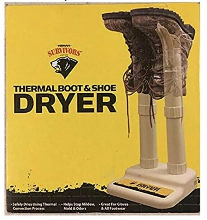 Thermal Boot & Shoe Dryer. No ODOR and Bacteria Again
