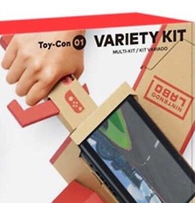 Nintendo Switch Labo Variety Kit Toy-Con 01, NIB SHIP FROM STORE