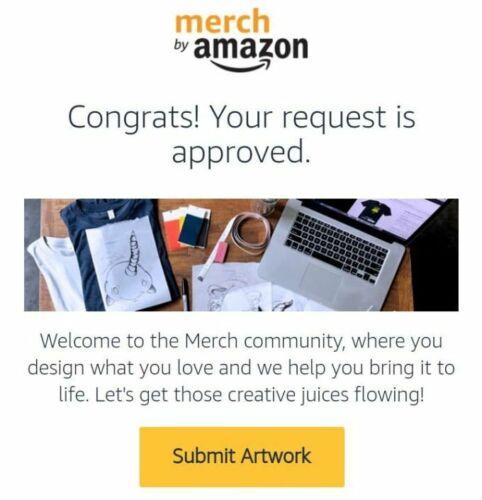 MERCH BY AMAZON ACCOUNT APPROVED TIER 10 + Gift (1 hour delivery)