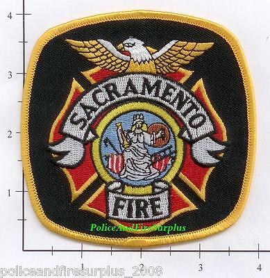 California   Sacramento Ca Fire Dept Patch